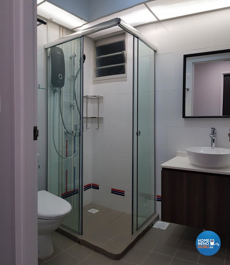 Contemporary, Minimalist, Modern Design - Bathroom - HDB 5 Room - Design by Inspire ID Group Pte Ltd