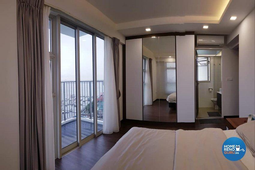 Contemporary, Minimalist, Modern Design - Bedroom - HDB 5 Room - Design by Inspire ID Group Pte Ltd