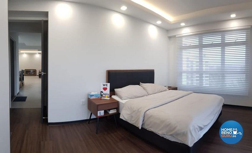 Contemporary, Minimalist, Modern Design - Bedroom - HDB 5 Room - Design by Inspire ID Group Pte Ltd