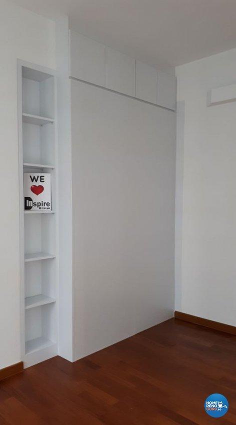 Minimalist, Modern, Scandinavian Design - Bedroom - HDB 5 Room - Design by Inspire ID Group Pte Ltd