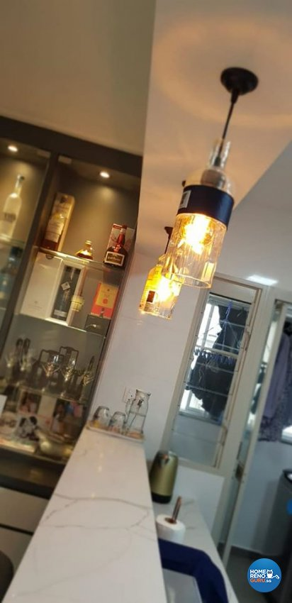 Minimalist, Modern, Scandinavian Design - Kitchen - HDB 5 Room - Design by Inspire ID Group Pte Ltd