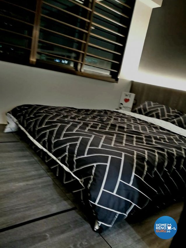 Contemporary, Modern, Rustic Design - Bedroom - HDB 4 Room - Design by Inspire ID Group Pte Ltd