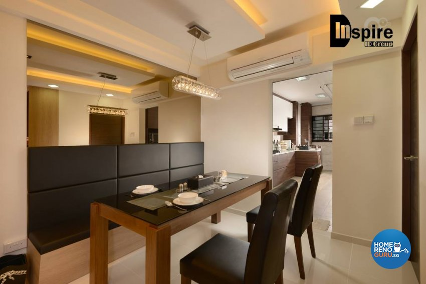 Contemporary, Modern Design - Dining Room - HDB 4 Room - Design by Inspire ID Group Pte Ltd
