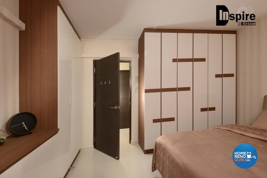 Contemporary, Modern Design - Bedroom - HDB 4 Room - Design by Inspire ID Group Pte Ltd