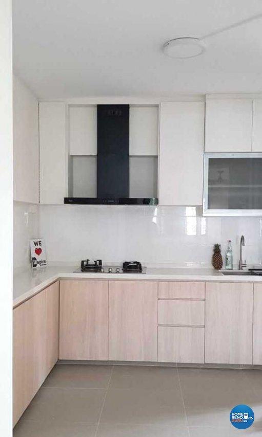 Minimalist Hdb Design: Inspire Id Group Pte Ltd Hdb Resale 4 Room Tampines St 71