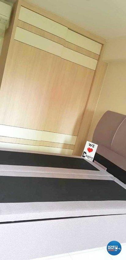 Minimalist, Modern, Scandinavian Design - Bedroom - HDB 4 Room - Design by Inspire ID Group Pte Ltd