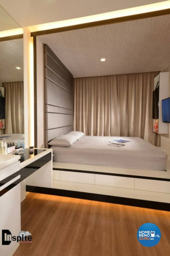 Contemporary, Modern Design - Bedroom - Condominium - Design by Inspire ID Group Pte Ltd