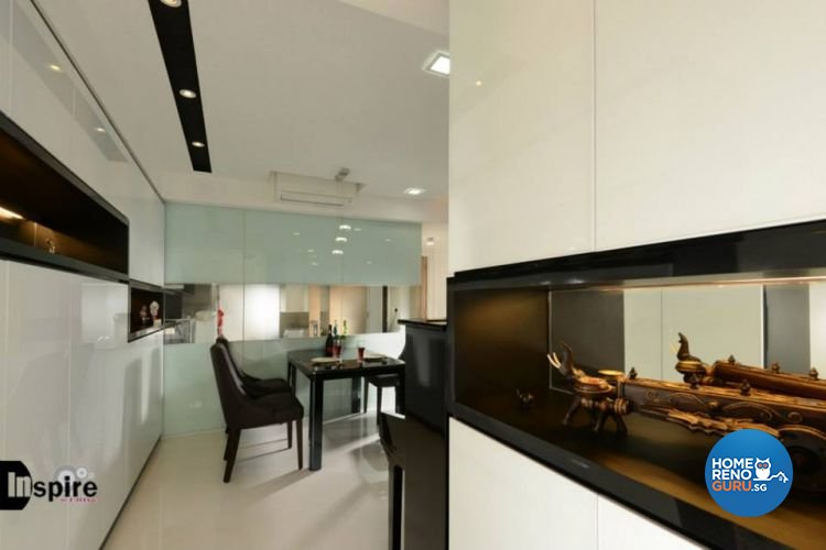 Contemporary, Modern Design - Living Room - Condominium - Design by Inspire ID Group Pte Ltd