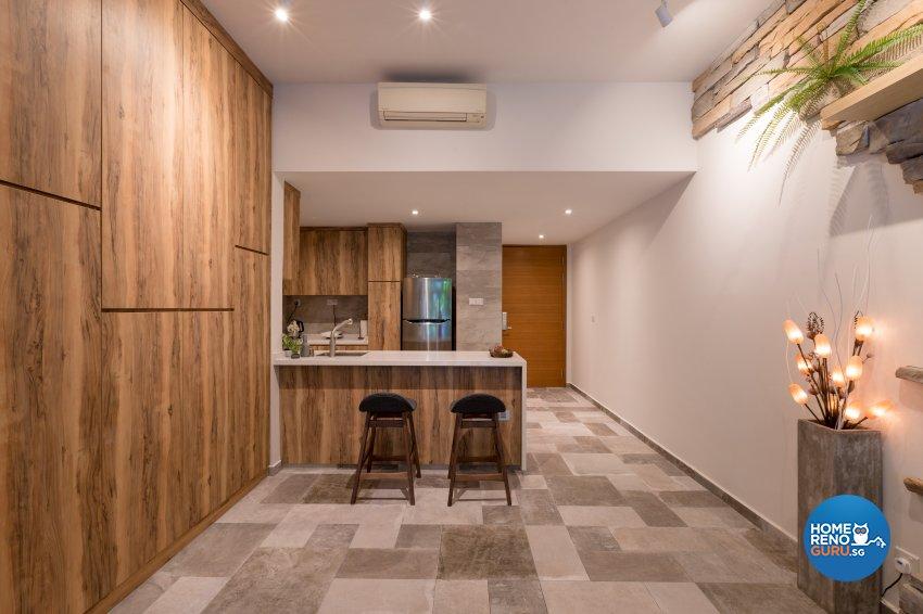 Modern, Resort, Tropical Design - Dining Room - Condominium - Design by Interi Living
