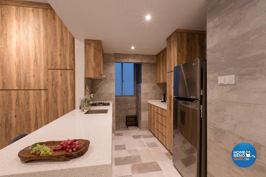 Modern, Resort, Tropical Design - Kitchen - Condominium - Design by Interi Living