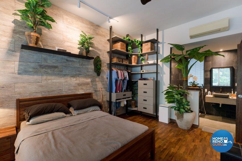 Modern, Resort, Tropical Design - Bedroom - Condominium - Design by Interi Living