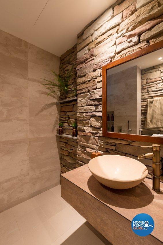 Modern, Resort, Tropical Design - Bathroom - Condominium - Design by Interi Living