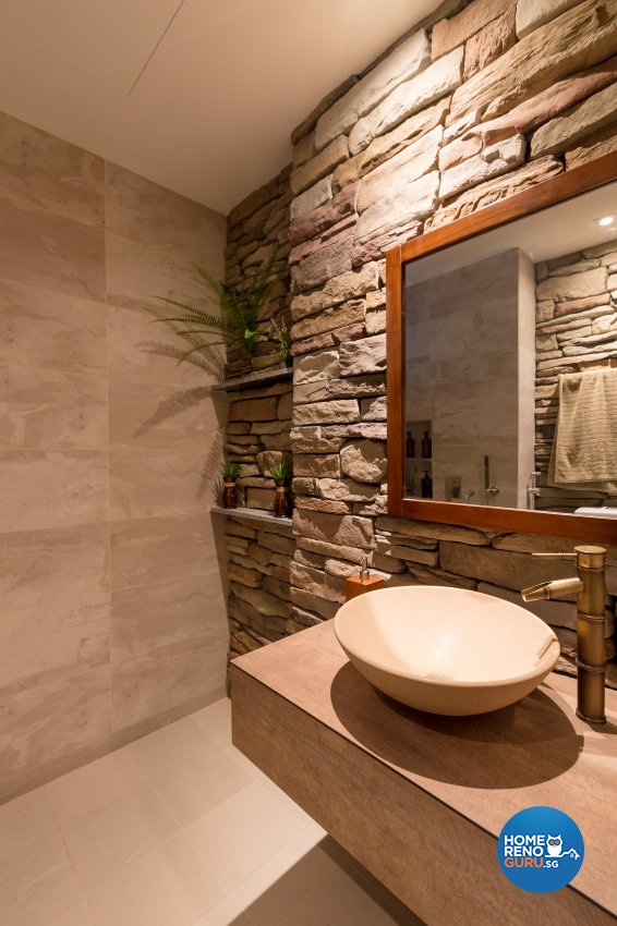 Modern, Resort, Tropical Design - Bathroom - Condominium - Design by Interi Living