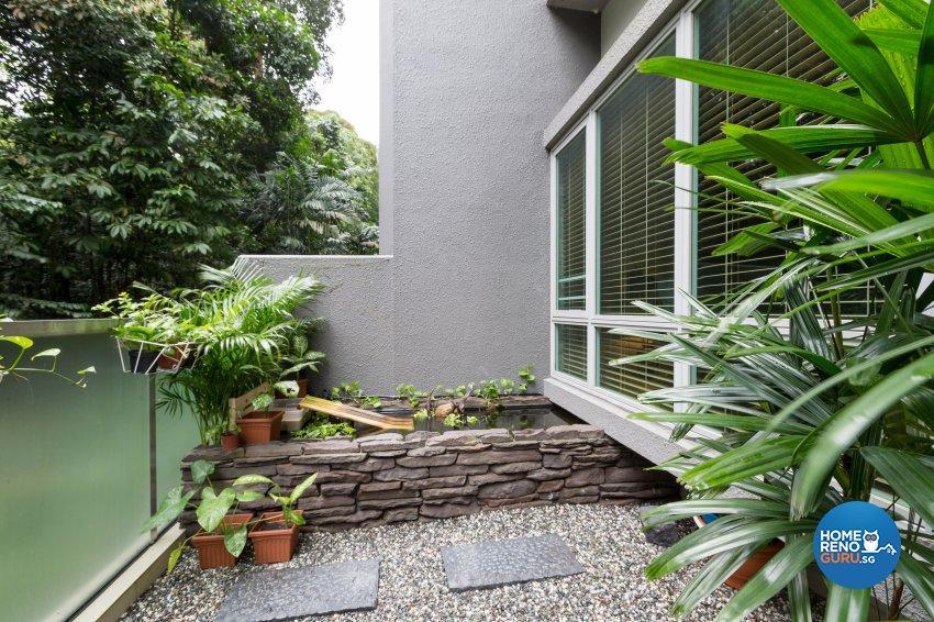 Modern, Resort, Tropical Design - Balcony - Condominium - Design by Interi Living
