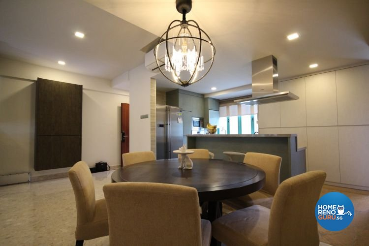 Contemporary, Industrial, Modern Design - Dining Room - Condominium - Design by Interi Living