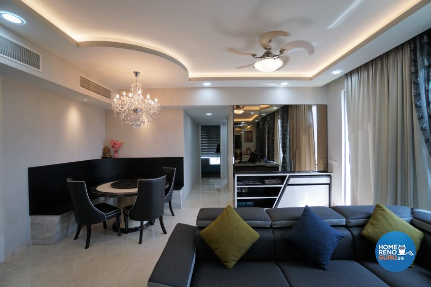 Classical, Modern, Others Design - Dining Room - Condominium - Design by Interior Diary Private Limited