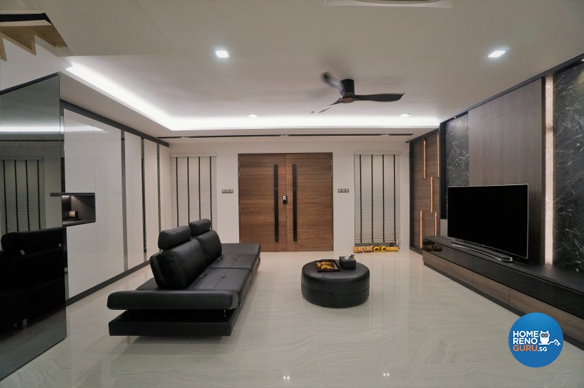 Classical, Modern, Others Design - Living Room - Landed House - Design by Interior Diary Private Limited