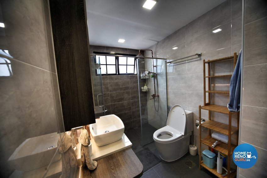Modern, Others, Victorian Design - Bathroom - Condominium - Design by Interior Diary Private Limited