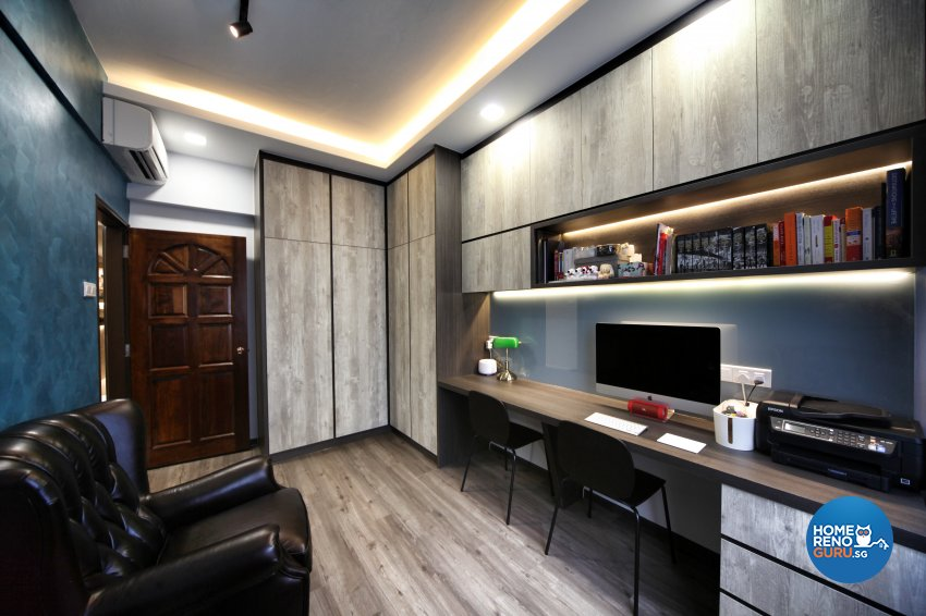 Modern, Others, Victorian Design - Study Room - Condominium - Design by Interior Diary Private Limited