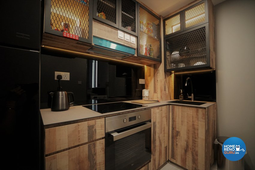 Classical, Modern, Others Design - Kitchen - Condominium - Design by Interior Diary Private Limited
