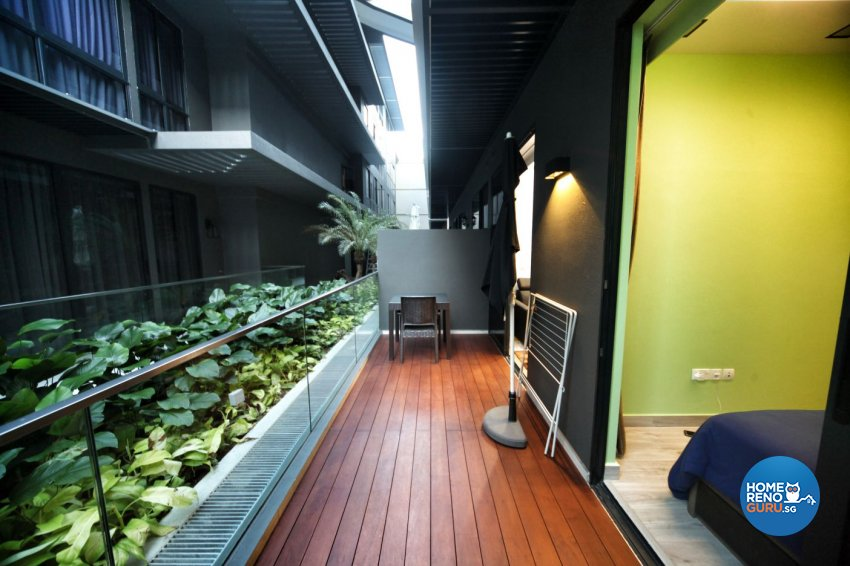 Minimalist, Others Design - Balcony - HDB Studio Apartment - Design by Interior Diary Private Limited