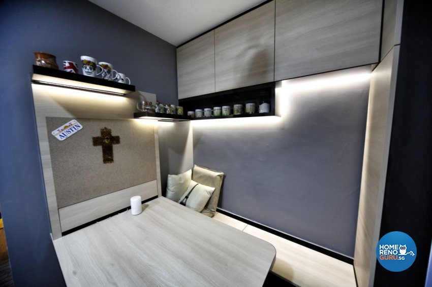 Minimalist, Others Design - Dining Room - HDB Studio Apartment - Design by Interior Diary Private Limited