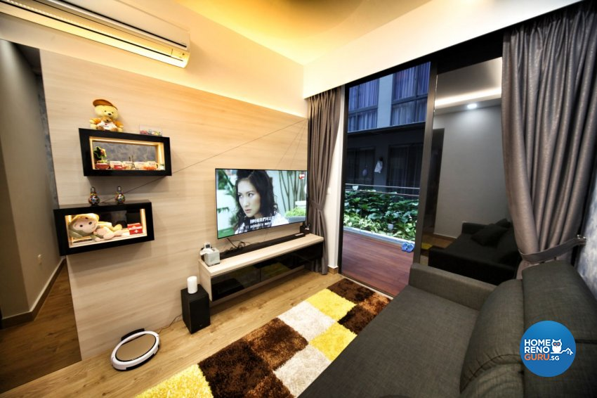Minimalist, Others Design - Living Room - HDB Studio Apartment - Design by Interior Diary Private Limited