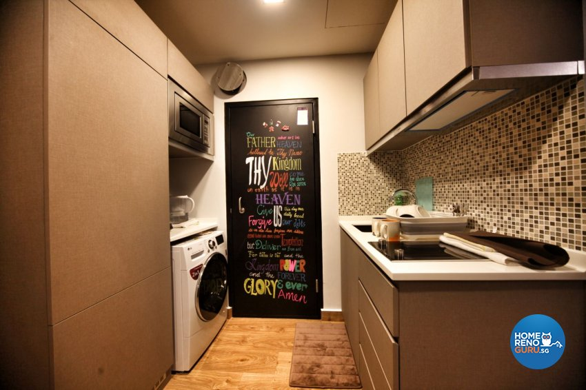 Minimalist, Others Design - Kitchen - HDB Studio Apartment - Design by Interior Diary Private Limited