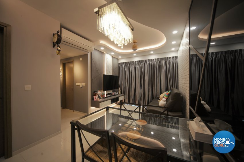 Classical, Modern Design - Living Room - Condominium - Design by Interior Diary Private Limited