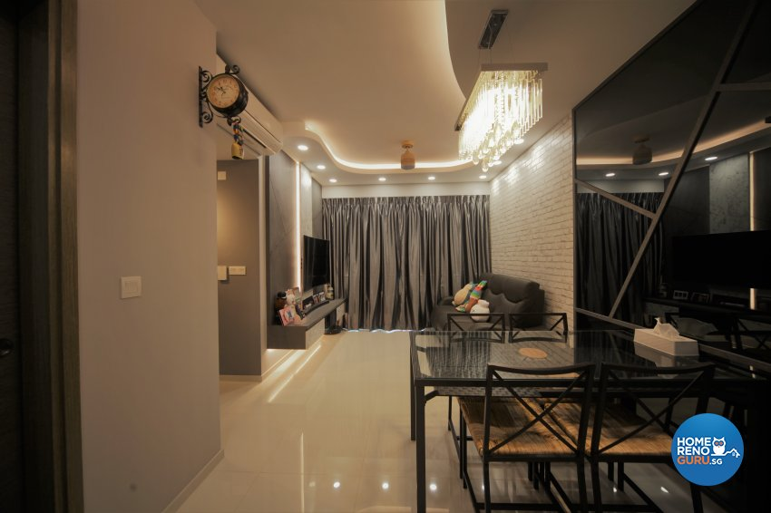 Classical, Modern Design - Dining Room - Condominium - Design by Interior Diary Private Limited