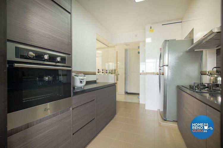Contemporary, Modern, Scandinavian Design - Kitchen - HDB 4 Room - Design by Interior Doctor Pte Ltd