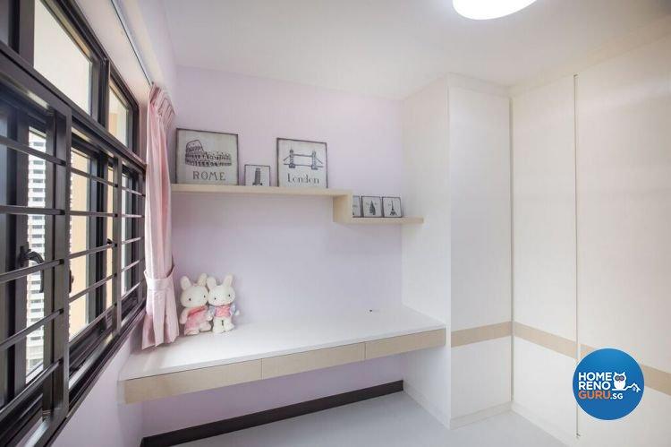 Contemporary, Modern, Scandinavian Design - Study Room - HDB 4 Room - Design by Interior Doctor Pte Ltd