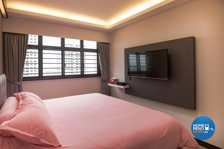 Contemporary, Modern, Scandinavian Design - Bedroom - HDB 4 Room - Design by Interior Doctor Pte Ltd