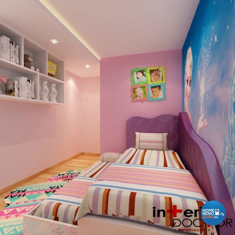 Contemporary, Modern Design - Bedroom - Condominium - Design by Interior Doctor Pte Ltd