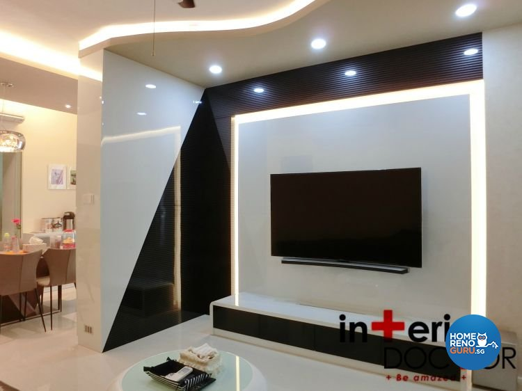 Contemporary, Modern Design - Living Room - Condominium - Design by Interior Doctor Pte Ltd