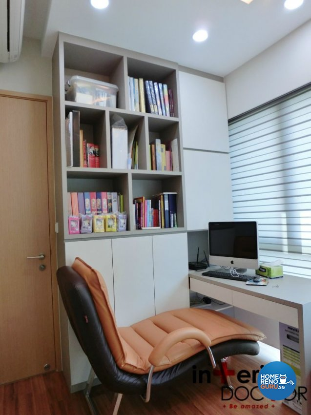 Contemporary, Modern Design - Study Room - Condominium - Design by Interior Doctor Pte Ltd