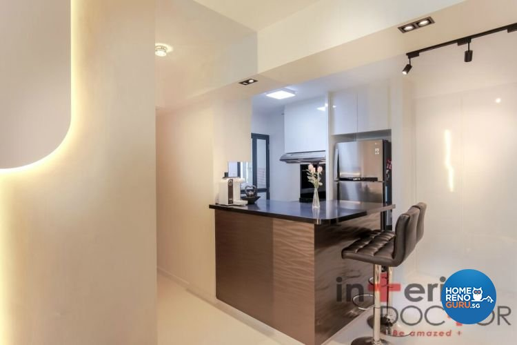 Contemporary, Modern Design - Dining Room - HDB 4 Room - Design by Interior Doctor Pte Ltd