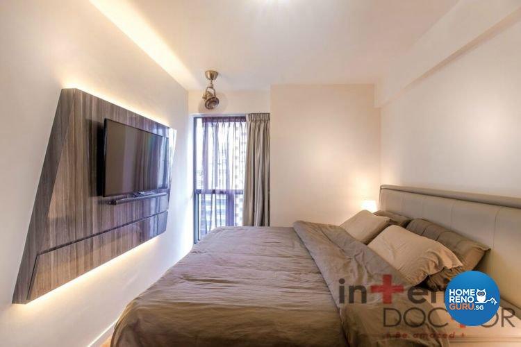 Contemporary, Modern Design - Bedroom - HDB 4 Room - Design by Interior Doctor Pte Ltd