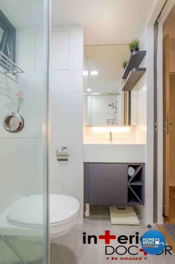 Contemporary, Modern Design - Bathroom - HDB 4 Room - Design by Interior Doctor Pte Ltd