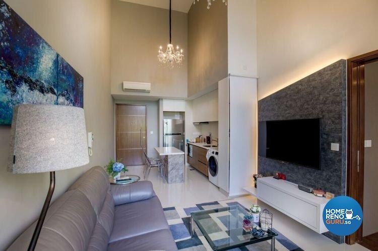 Contemporary, Modern Design - Living Room - Condominium - Design by Interior Doctor Pte Ltd