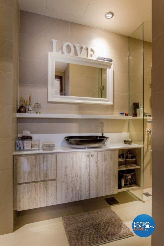 Contemporary, Modern Design - Bathroom - Condominium - Design by Interior Doctor Pte Ltd