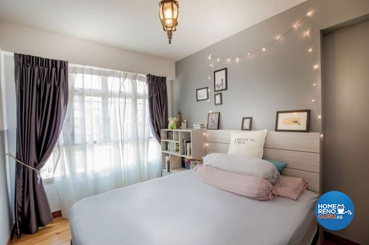 Modern, Scandinavian Design - Bedroom - HDB 4 Room - Design by Interior Doctor Pte Ltd