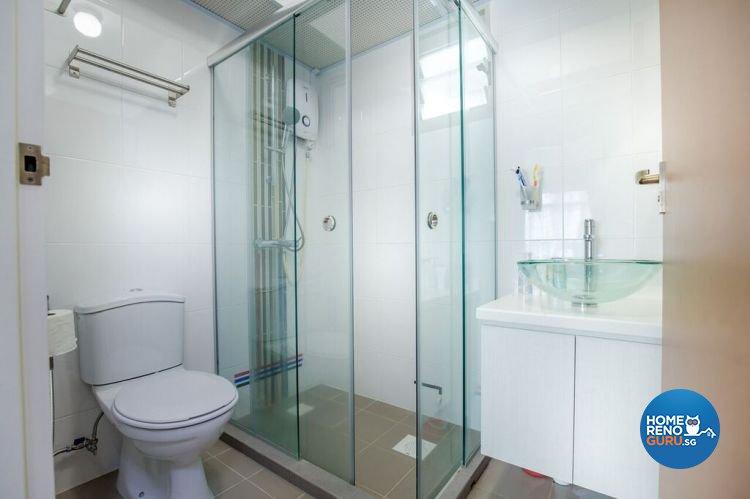 Modern, Scandinavian Design - Bathroom - HDB 4 Room - Design by Interior Doctor Pte Ltd