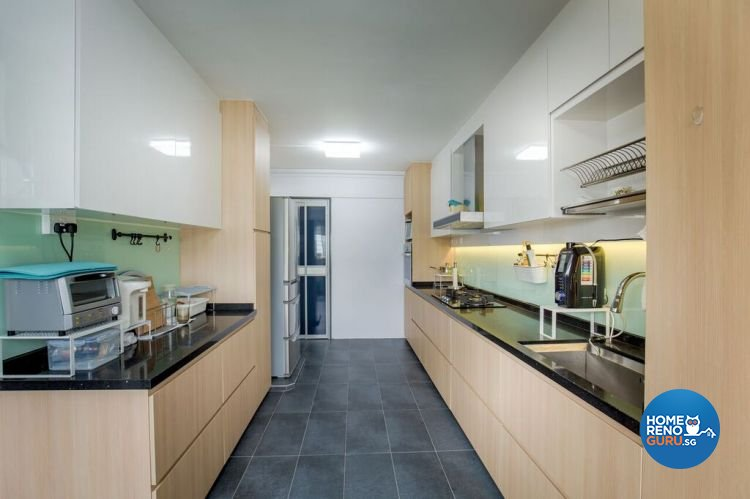 Contemporary, Modern, Scandinavian Design - Kitchen - HDB 5 Room - Design by Interior Doctor Pte Ltd