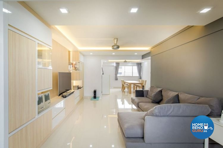Contemporary, Modern, Scandinavian Design - Living Room - HDB 5 Room - Design by Interior Doctor Pte Ltd