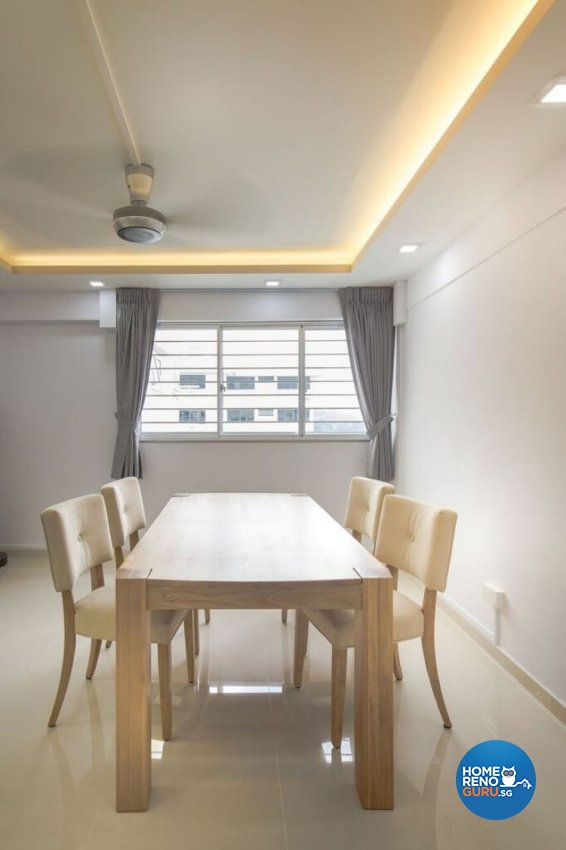 Contemporary, Modern, Scandinavian Design - Dining Room - HDB 5 Room - Design by Interior Doctor Pte Ltd