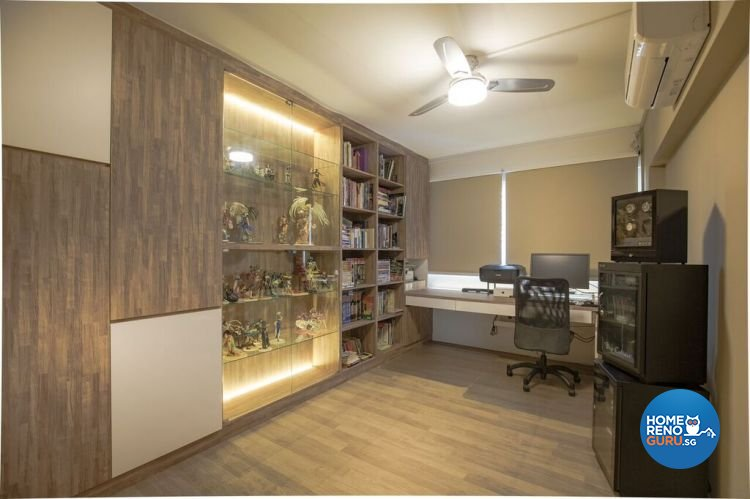 Contemporary, Modern, Scandinavian Design - Study Room - HDB 5 Room - Design by Interior Doctor Pte Ltd