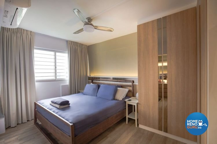 Contemporary, Modern, Scandinavian Design - Bedroom - HDB 5 Room - Design by Interior Doctor Pte Ltd