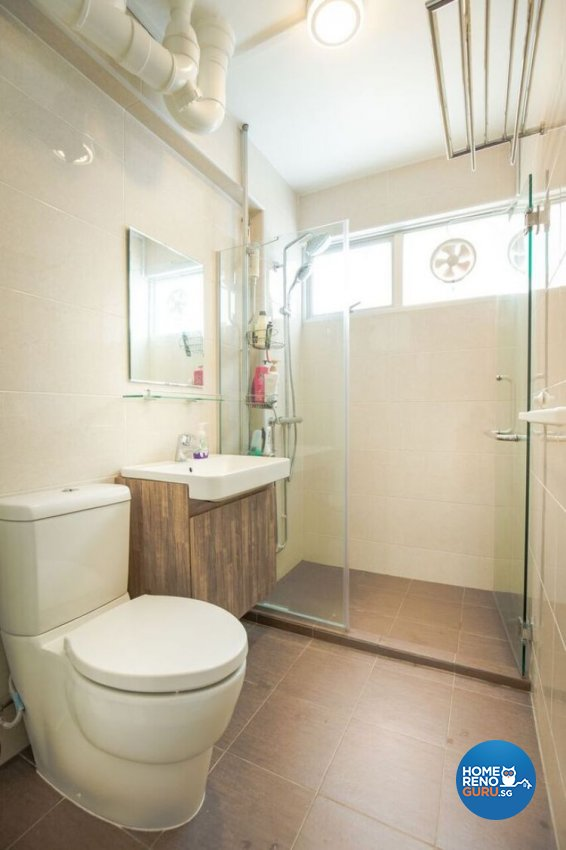 Contemporary, Modern, Scandinavian Design - Bathroom - HDB 5 Room - Design by Interior Doctor Pte Ltd
