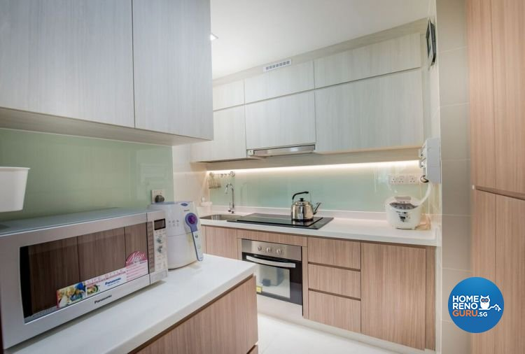 Contemporary, Modern Design - Kitchen - HDB Executive Apartment - Design by Interior Doctor Pte Ltd